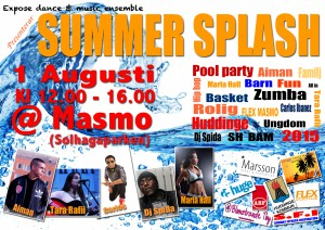 SUMMER SPLASH 1 AUG 2015